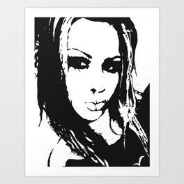 Gore-geous Art Print