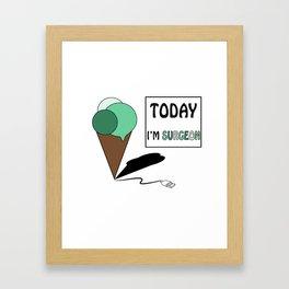 gelatoUsb - today i'm SURGEON Framed Art Print