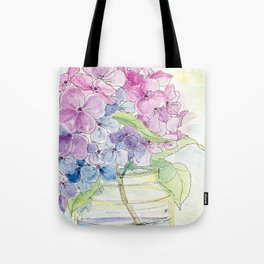 Hydrangea, Still Life Tote Bag