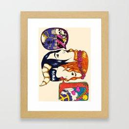 Janus/Bifrons Framed Art Print