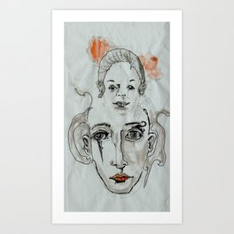 Memories of Childhood Art Print