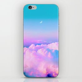 Bubblegum Sky iPhone Skin