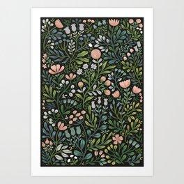 Month of June ~ dark Art Print