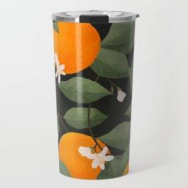 fresh citrus // dark Travel Mug