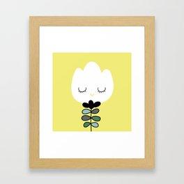 simply flower Framed Art Print