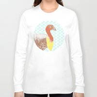 turkey Long Sleeve T-shirts featuring Go turkey! by Albert Palen  >   albertpalendraws.com