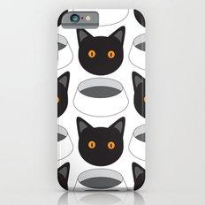 Cat Face & Bowl iPhone 6s Slim Case