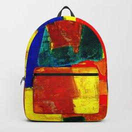 Equilibrium - Balance -Öl auf Leinwand Backpack