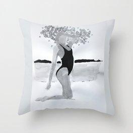 Model03 Throw Pillow