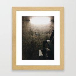 Exit to Street Framed Art Print