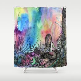 Mermaid 2.0 Shower Curtain