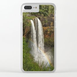 Wailua Falls - Kauai - Hawaii Clear iPhone Case