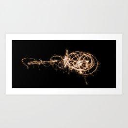 The Spark Art Print