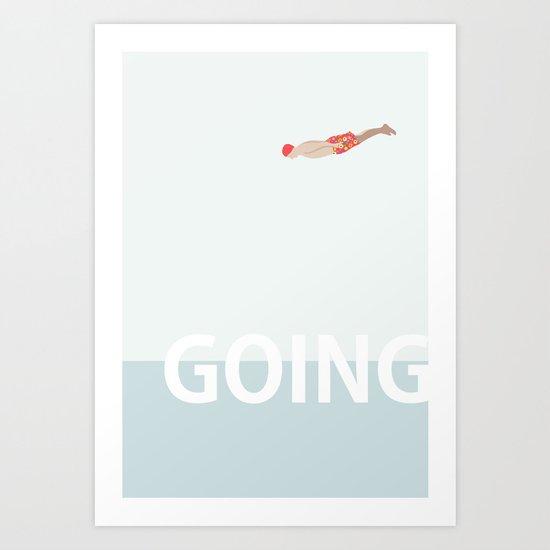 Going Art Print