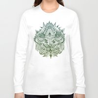 jungle Long Sleeve T-shirts featuring Jungle by Fortunate Tuna
