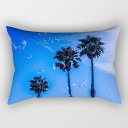 Tropical glitch Rectangular Pillow