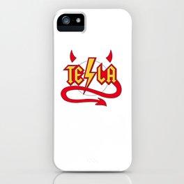 Tesla Devil iPhone Case