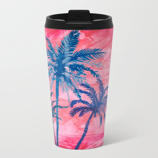 Palm Island Metal Travel Mug