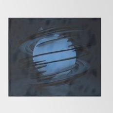 Blue Moon Throw Blanket