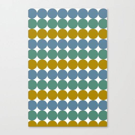 Formes et couleurs Canvas Print