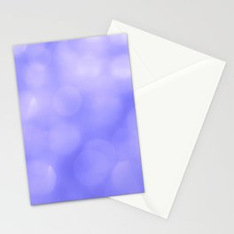 Violet light reflections Stationery Cards