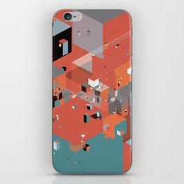 Scatter 3 iPhone Skin