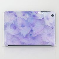 hydrangea iPad Cases featuring hydrangea by clemm