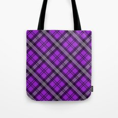 Scottish Plaid (Tartan) - Purple Tote Bag