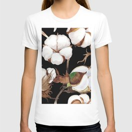 Cotton Flower Pattern 03 T-shirt