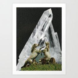 //NEW MOON UNIT// Art Print