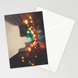 Portland In The Rain Stationery Cards