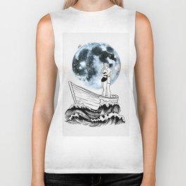 Night above the moon. Biker Tank