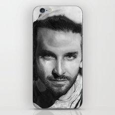 Bradley Cooper Traditional Portrait Print iPhone & iPod Skin