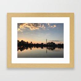 Edwardes Lake Framed Art Print