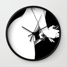 asc 477 - Le frisson de plaisir (The thrill) Wall Clock