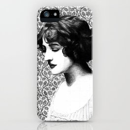 Miss Lily Elsie iPhone Case