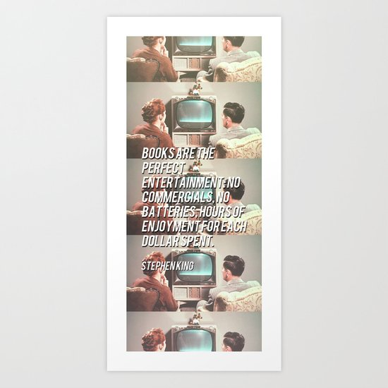 the perfect entertainment  Art Print