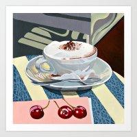 Wittenberg Cappuccino Art Print