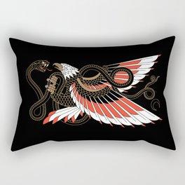 Americana - Eagle & Serpent Rectangular Pillow
