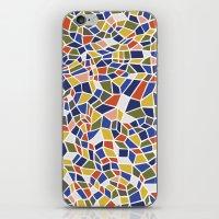 geo iPhone & iPod Skins featuring geo by jennifer judd-mcgee