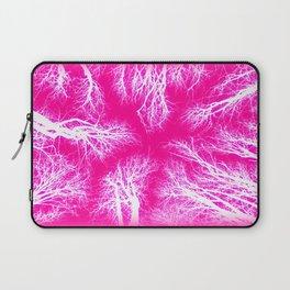 Takoma Trees Pink & White Laptop Sleeve