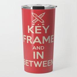 Key Frame and Inbetween Travel Mug