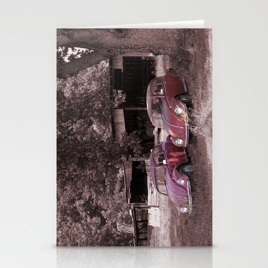 Lovebugs Stationery Cards