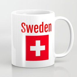 Sweden - Swiss Flag Coffee Mug