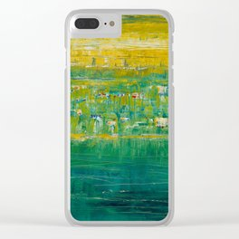 Oregon Has Currents Clear iPhone Case