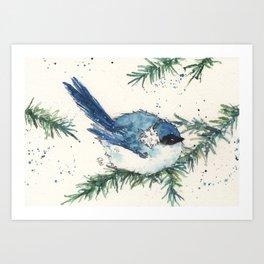Cozy December Art Print