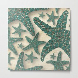 Starfish Society Metal Print