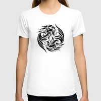 pisces T-shirts featuring Pisces by JonathanStephenHarris