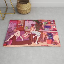 Strawberry Afternoons Rug