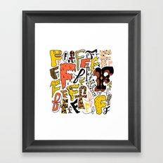 F's Framed Art Print